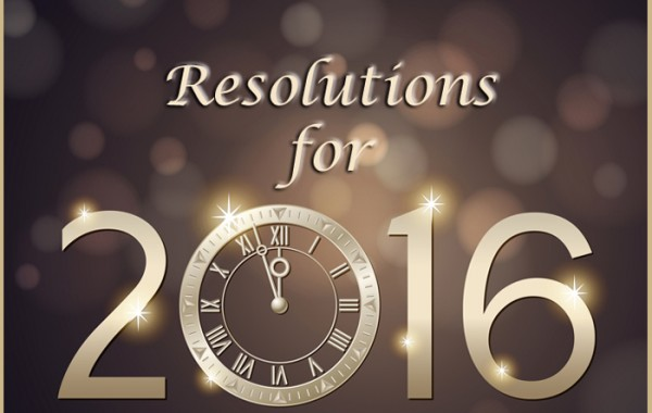 12 Resolutions for a Writer